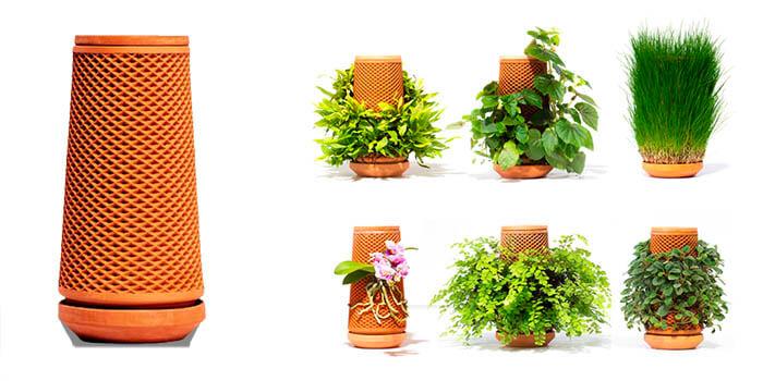 huerto mini jardinera